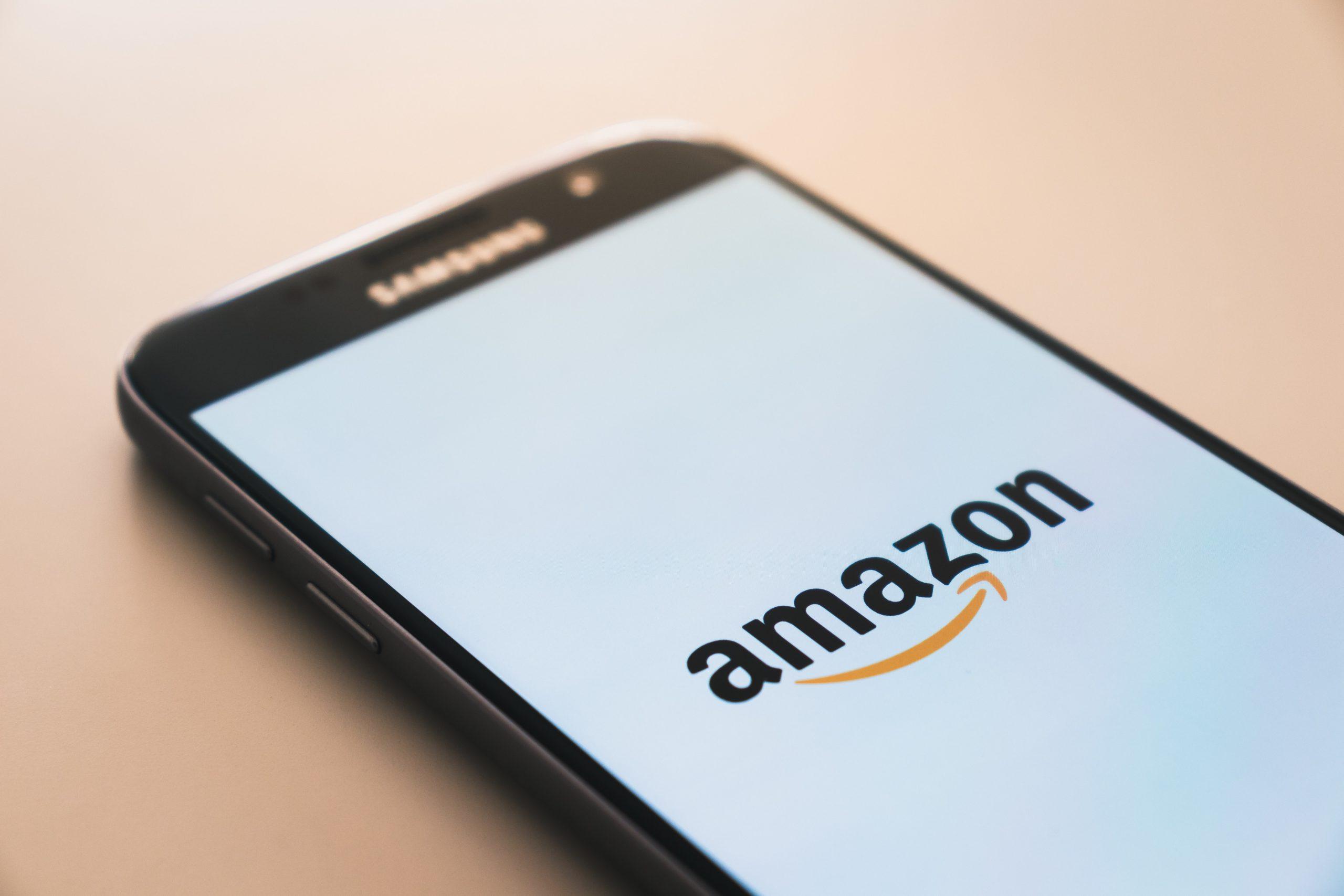 Smartphone avec Amazon