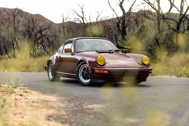 Porsche 911 de collection, une bonne première voiture pour investir